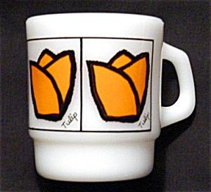 Fire King Tulip Coffee Mug (Image1)