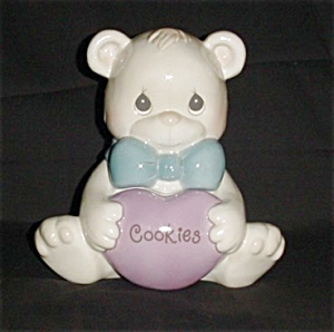 Precious Moments Bear Cookie Jar (Image1)
