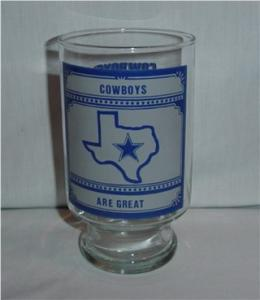 Dallas Cowboys Beer Glass (Image1)