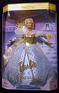 1996 Cinderella Barbie Doll (Image1)