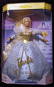 1996 Cinderella Barbie Doll (Image1)