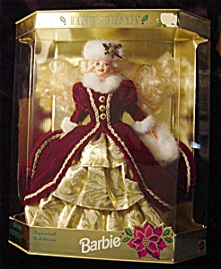 1996 Happy Holidays Barbie Doll (Image1)