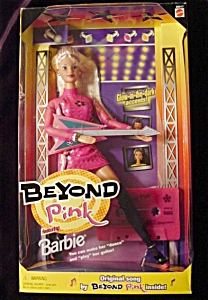 1998 Beyond Pink Barbie Doll (Image1)