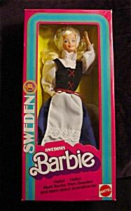 1982 Swedish Barbie Doll (Image1)