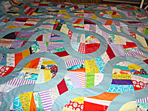 Trail Through The Wilderness Quilt Top