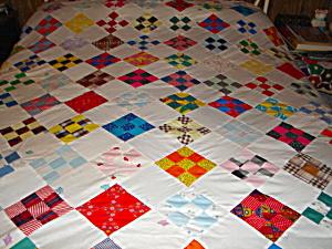 Nine Patch Quilt Top (Image1)