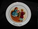 Click here to enlarge image and see more about item 003ap: Avon 1984 Celebrating the Joy of Giving Plate