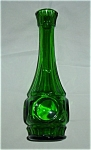 Click here to enlarge image and see more about item 1006s: Green Vase