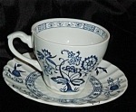 Click here to enlarge image and see more about item 1007s: J & G Meakin Cup and Saucer