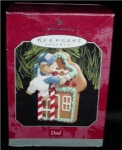 Dad 1998 Hallmark Ornament