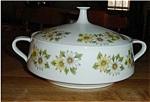 Click here to enlarge image and see more about item 1013ss: Noritake Maguerite Cookin & Server