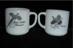 Click here to enlarge image and see more about item 1029: Federal Bird Coffee Mugs