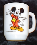Click here to enlarge image and see more about item 1039s: Anchor Hocking Pepsi Mickey Today Mug