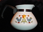 Click here to enlarge image and see more about item 1046s: Corning Ware 6 Cup Teapot