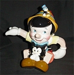 Click here to enlarge image and see more about item 1056s: Disney  Pinocchio Tea Pot