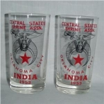 Click here to enlarge image and see more about item 1070: Shriner Glasses