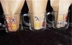 Click to view larger image of McDonalds 1984 Olympic Coffee Mugs (Image1)