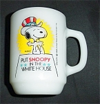 Click here to enlarge image and see more about item 1078s: Anchor Hocking Snoopy Coffee Mug