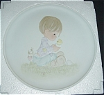 Click here to enlarge image and see more about item 1088s: Precious Moments 1982 Limited Edtion Plate