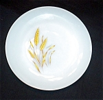 Click here to enlarge image and see more about item 1091s: Fire King Wheat Bread and Butter Plate