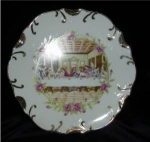 Click here to enlarge image and see more about item 1104: Religious Decorative Plate