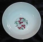 Click here to enlarge image and see more about item 1108s: Fire King Honeysuckle Berry Bowl