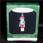 Clothespin Soldier Mini Hallmark Ornament