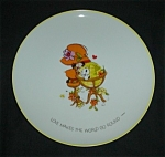Click here to enlarge image and see more about item 1125s: Mopsie Collectors Plate