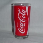 Click here to enlarge image and see more about item 1126: Coca Cola Drinking Glass
