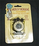 Click here to enlarge image and see more about item 1126s: Hollie Hobbie Miniature Clock #7