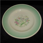 Click here to enlarge image and see more about item 1128: Susie Cooper Art Deco Plate