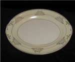 Click here to enlarge image and see more about item 1130: Crown Potteries Oval Platter