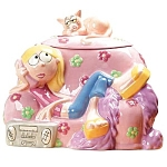 Disney Lizzie Cookie Jar