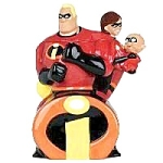 Click here to enlarge image and see more about item 1162s: Disney Incredibles Cookie Jar