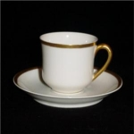 Click here to enlarge image and see more about item 1181: Limoges Haviland Demitesse Cup & Saucer