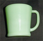 Fire King Jadite Flat Bottom Mug