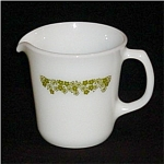 Click here to enlarge image and see more about item 1195: Pyrex  Creamer