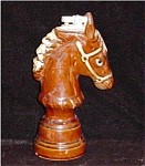 Click here to enlarge image and see more about item 1199: Vintage Ceramic Horse Lighter