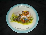Click here to enlarge image and see more about item 1199s: Gigi Collector Plate