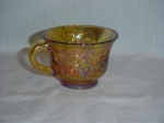 Click here to enlarge image and see more about item 119: Indiana Carnival Marigold Punch Cup