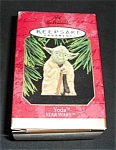 Click here to enlarge image and see more about item 1203s: 1997 Star Wars Yoda Hallmark Ornament