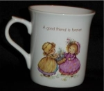 Click here to enlarge image and see more about item 1206: Hallmark A good Friend Mug