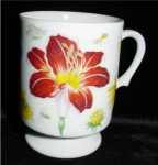 Click here to enlarge image and see more about item 1214: Wildflower Coffee Mug