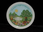 Click here to enlarge image and see more about item 121: Lasting Memories Plate