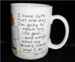 Click here to enlarge image and see more about item 1228: Hallmark Funny Mug