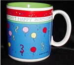 Click here to enlarge image and see more about item 1239: Happy Birthday Mug