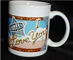 Avon Husband I Love You Mug