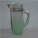 West Virginia Glass  Pitcher