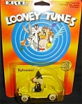 Click here to enlarge image and see more about item 1247s: 1989 Ertl Looney Tunes Sylvester Die-cast Car