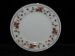 Click here to enlarge image and see more about item 124: Sheffield Annivesary Bread & Butter Plate